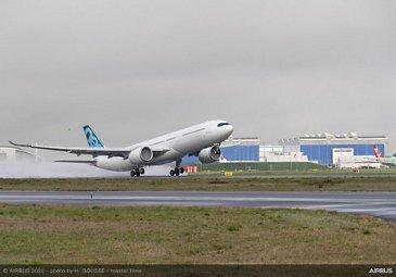 A330-900 new MTOW first flight