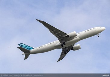A330 900 new MTWO - First Flight - Take off