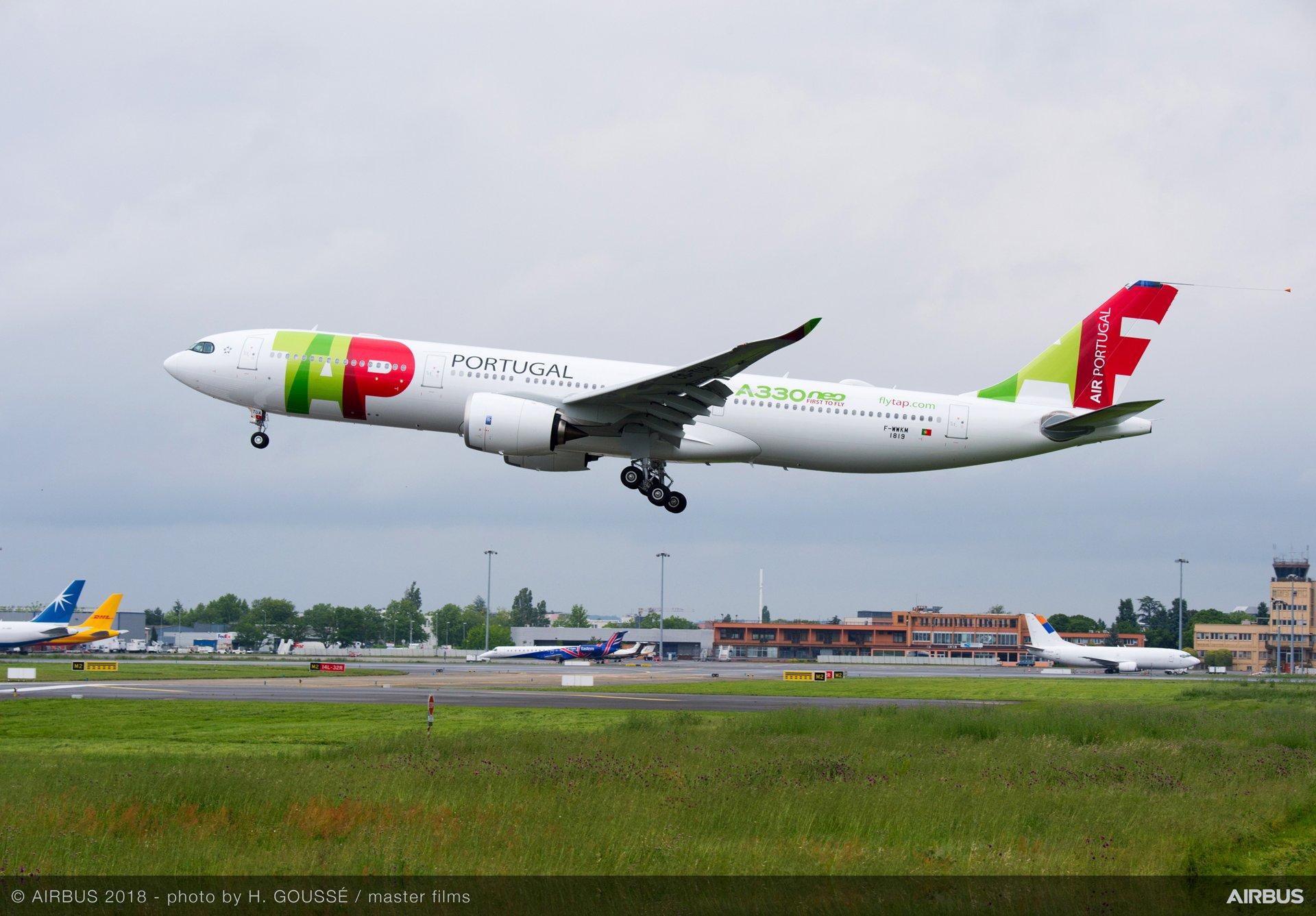 A330 900 TAP MSN1819 Landing
