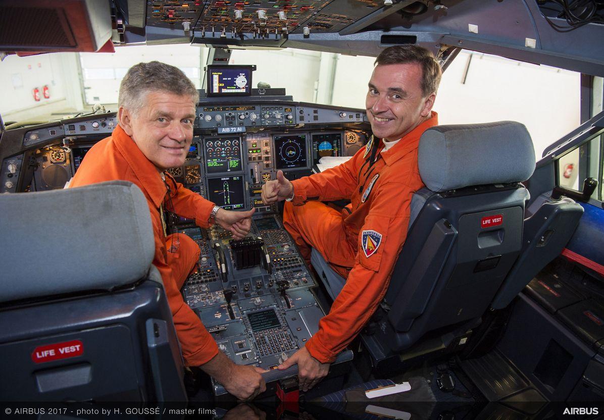 A340 Laminar Flow BLADE Demonstrator First Flight - Before Flight