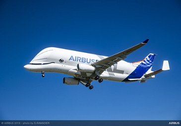 BelugaXL first flight