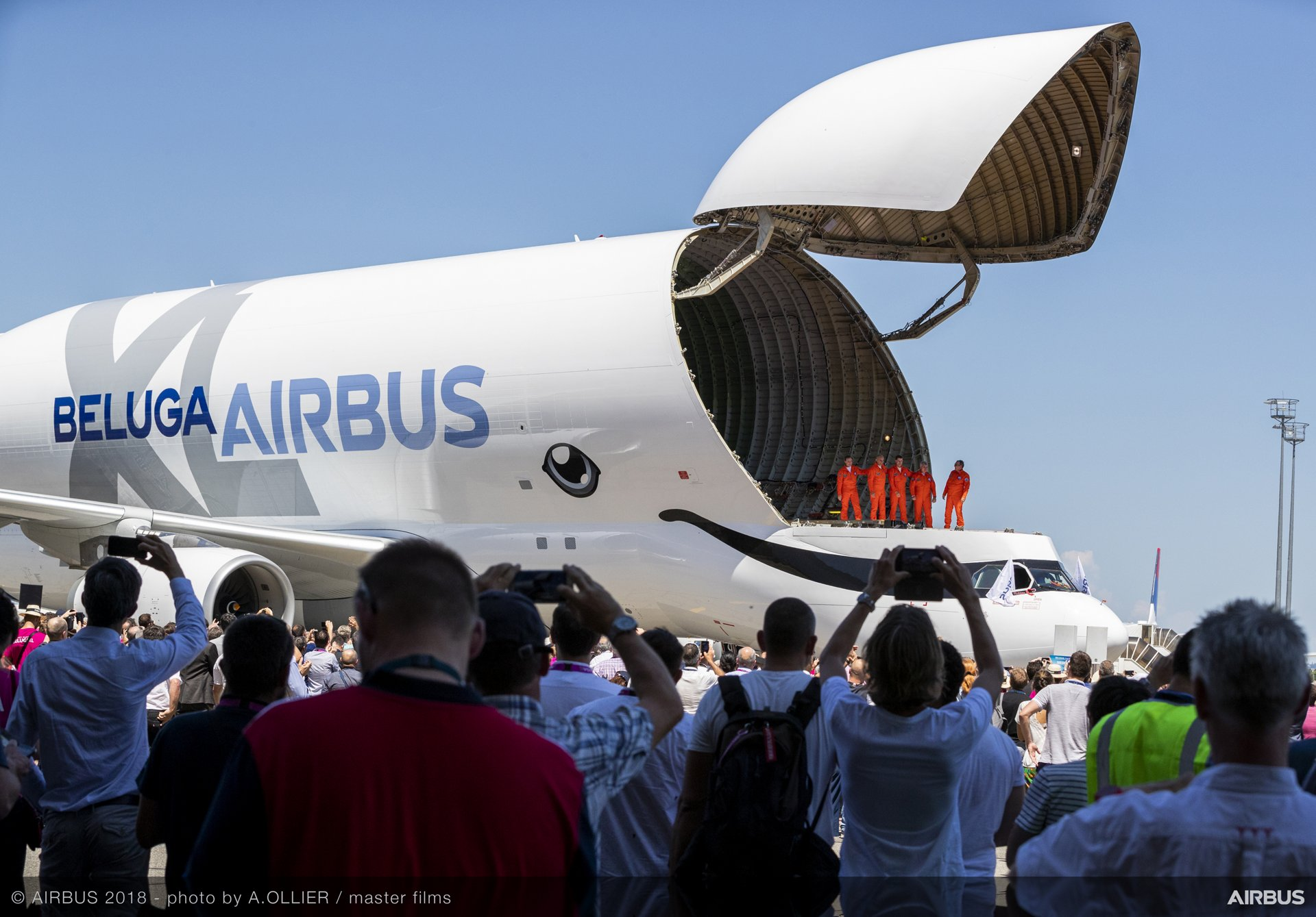 The BelugaXL airlifter is put through its paces