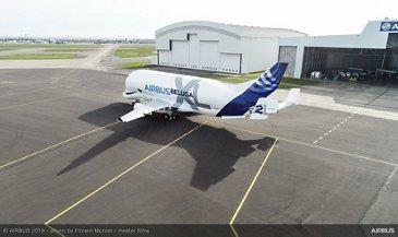 Maiden flight of Airbus' second BelugaXL – Aircraft