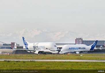 AG真人计划鈥� no. 2 BelugaXL and the Beluga ST
