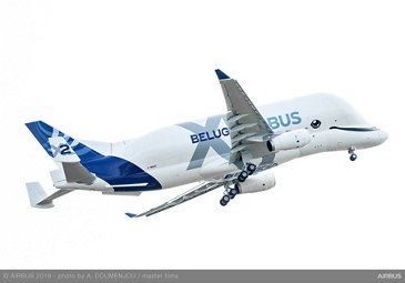 Airbus' second BelugaXL takes off on maiden flight