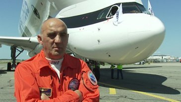 First Flight BelugaXL Crew Interview Bernardo Saez Benito Hernandez