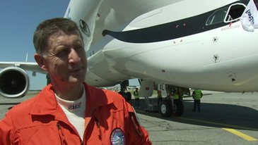 First Flight BelugaXL Crew Interview Christophe Cail