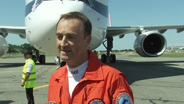 First Flight BelugaXL Crew Interview  Jean Michel Pin