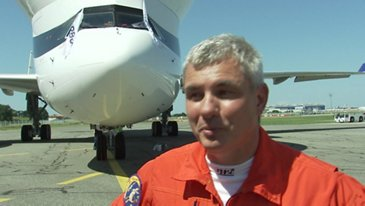 First Flight BelugaXL Crew Interview Laurent Lapierre