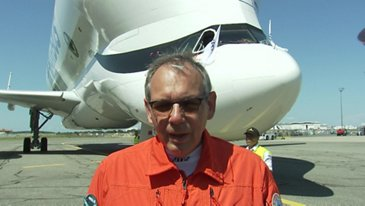 First Flight BelugaXL Crew Interview Philippe Foucault