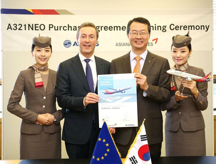 A321neo_Asiana Airlines firm order