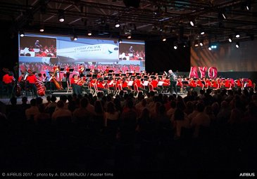 Concert of Asian Youth Orchestra at Airbus Leadership University