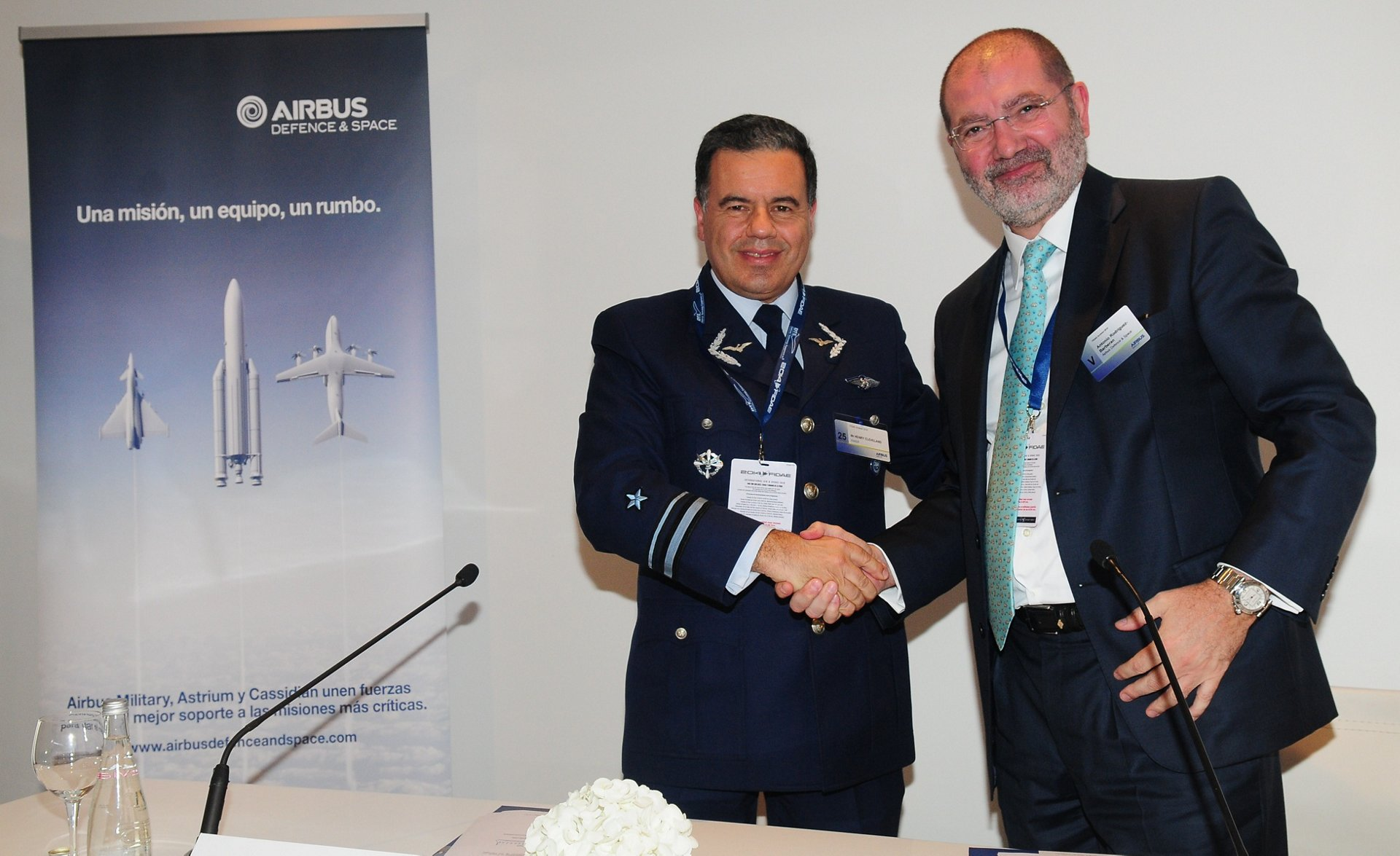 Signature agreement with Enaer to extend existing cooperation on aircraft maintenance and upgrading