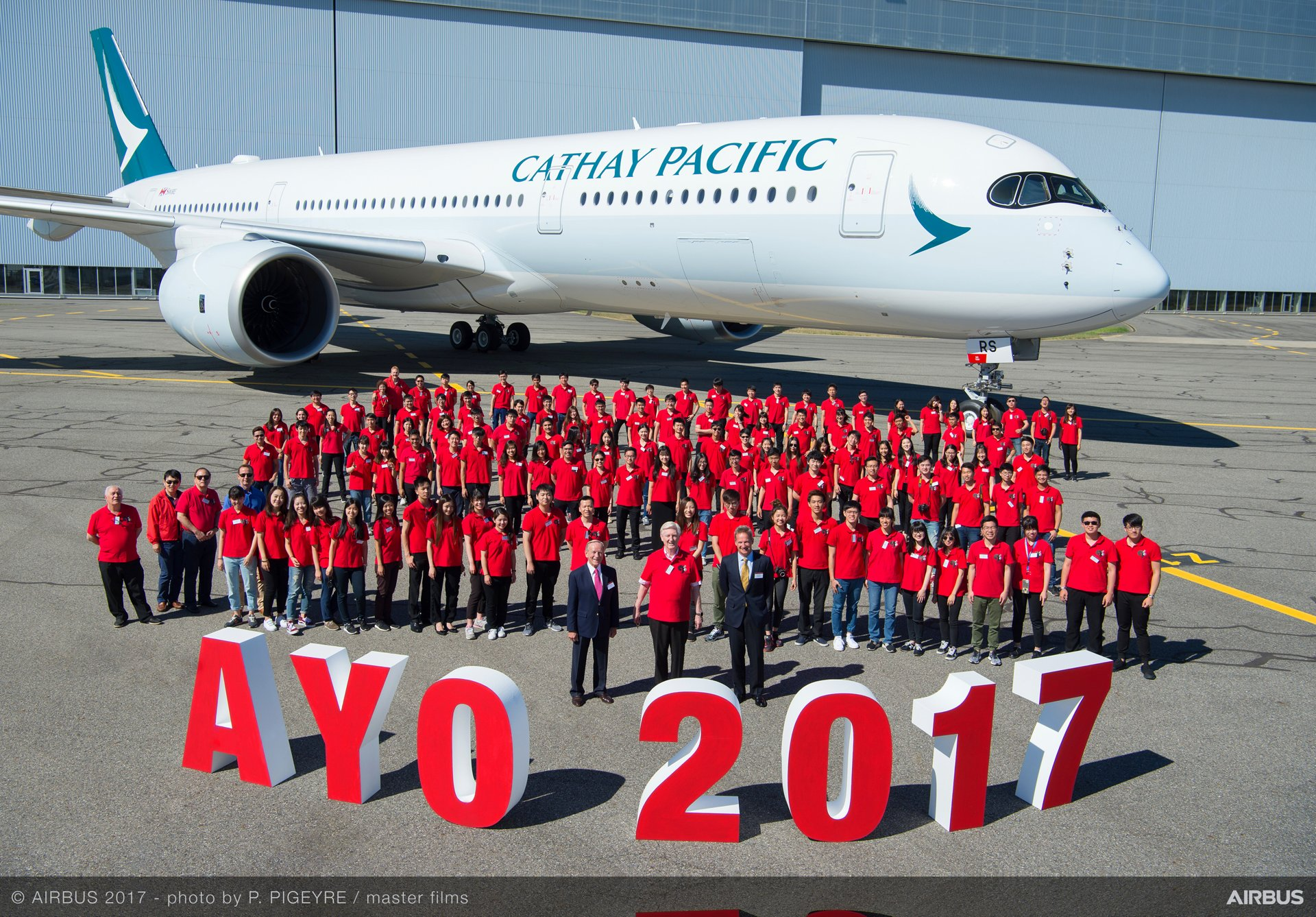 Airbus Hosts Asian Young Orchestra (AYO) In Toulouse