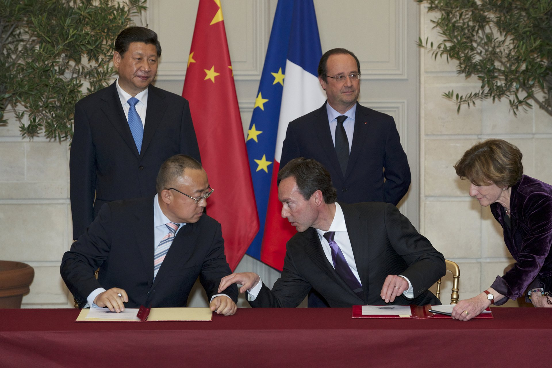 Airbus and China signature CASC order