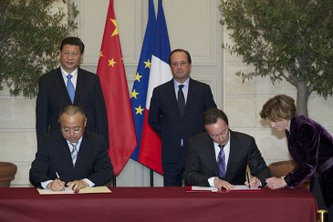 Airbus and China signature CASC order 2
