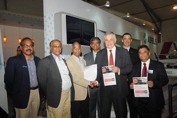 Airbus sponsors India's first Aerospace and Aviation Management course