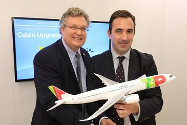 TAP Portugal_Agreement for upgrading A330 & A320 Family cabins 1