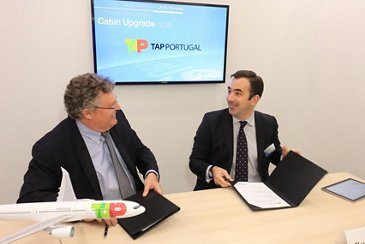 TAP Portugal_Agreement for upgrading A330 & A320 Family cabins 2