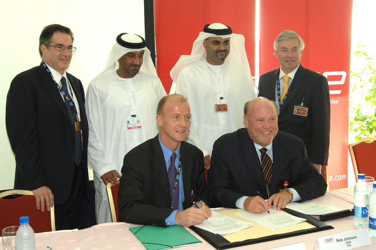Aircraft lessor DAE Capital signs firm order for 100 Airbus aircraft