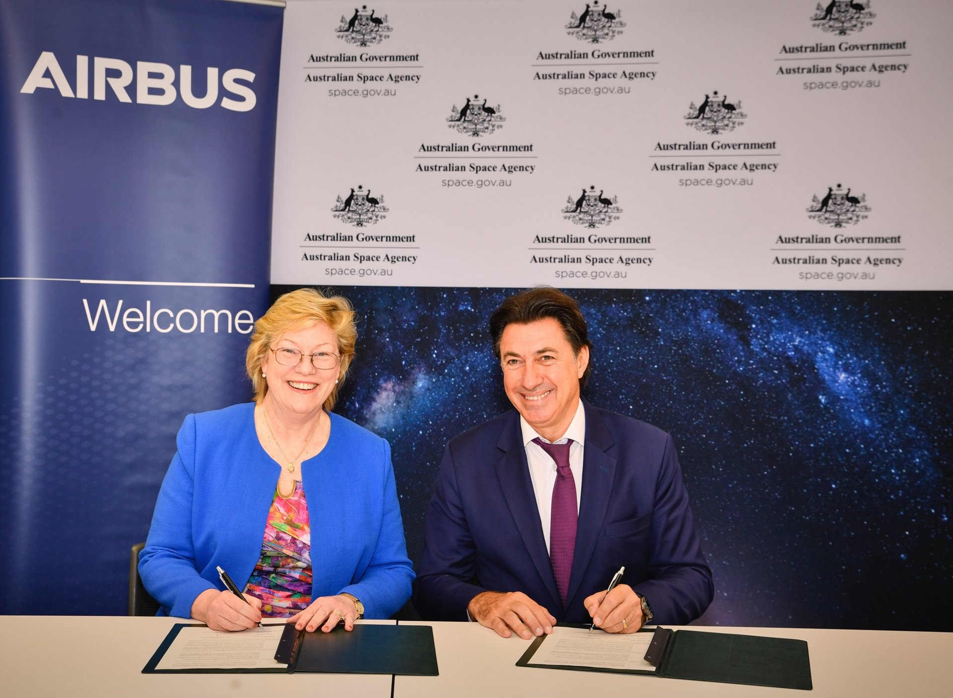 - Dr Megan Clark AC, Head of the Australian    Space Agency 