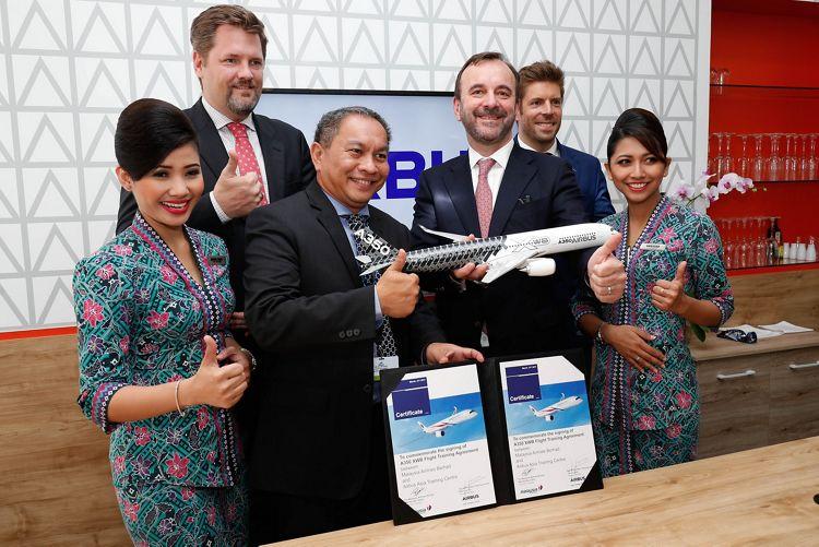 Malaysia Airlines Berhad_A350 XWB training agreement