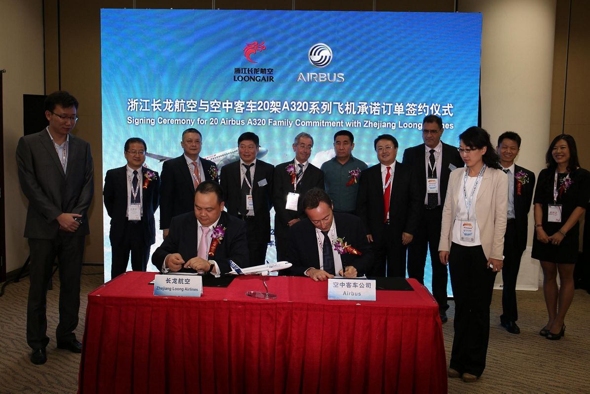 Zhejiang Loong Airlines signature A320 02