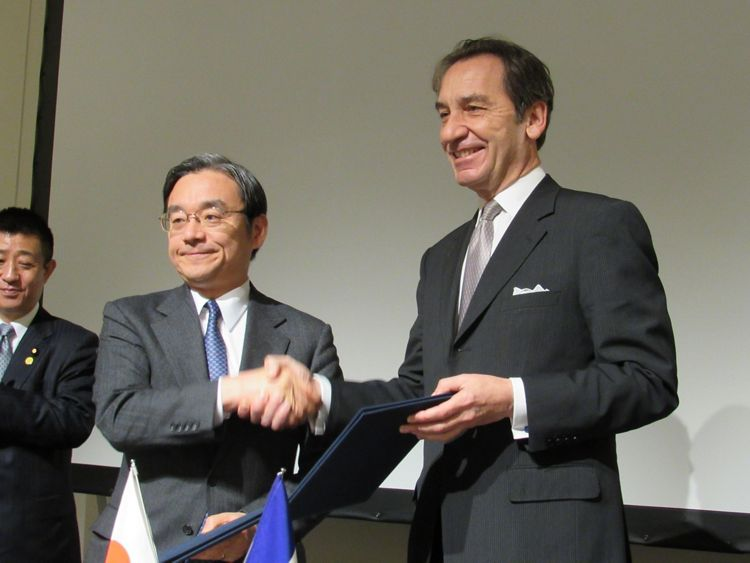 Industrial partnerships with Japan_Agreement