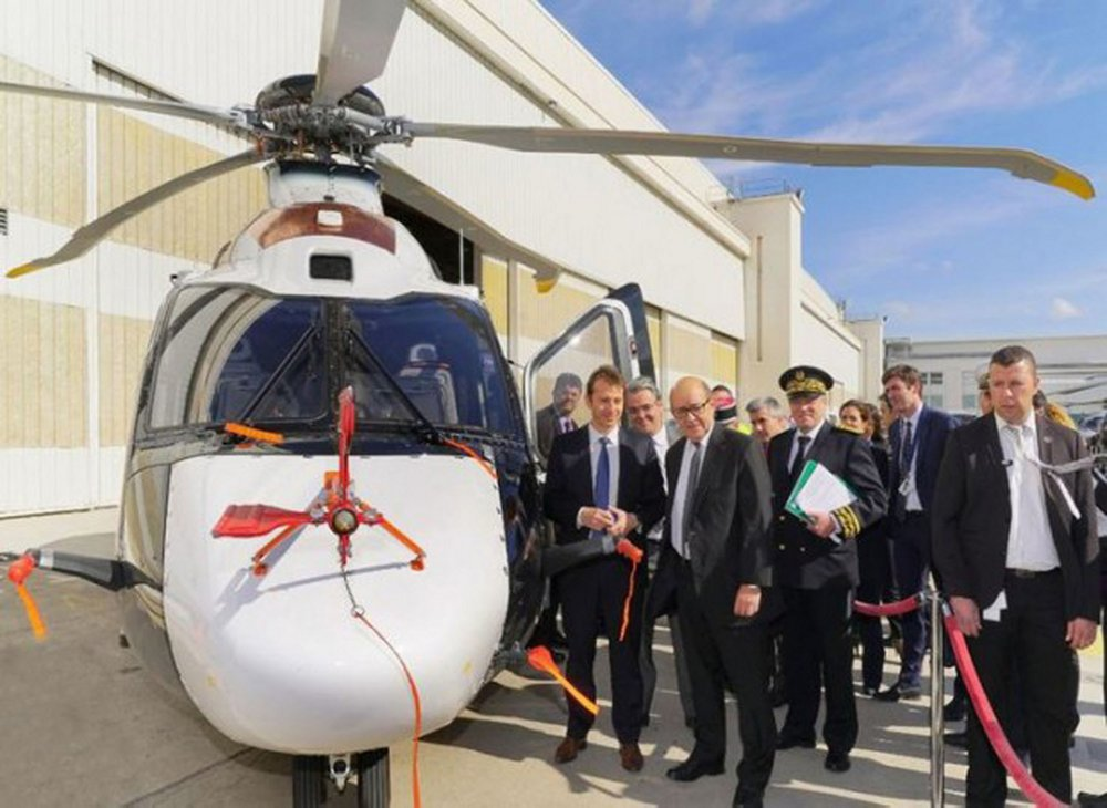 The French Defence Minister announced the choice of H160 for France's Joint Helicopter replacement programme.