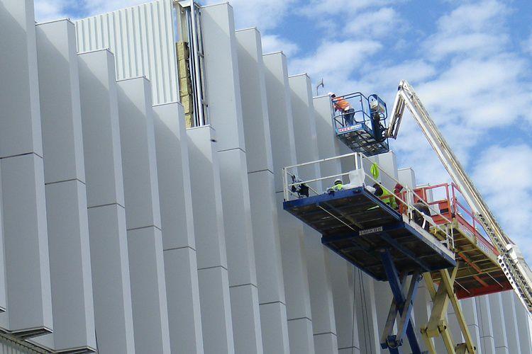 C65 panel installation