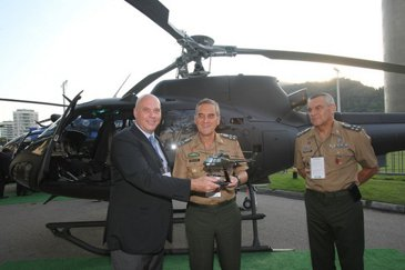 Brazil receives new and retrofitted aircraft at LAAD 2015