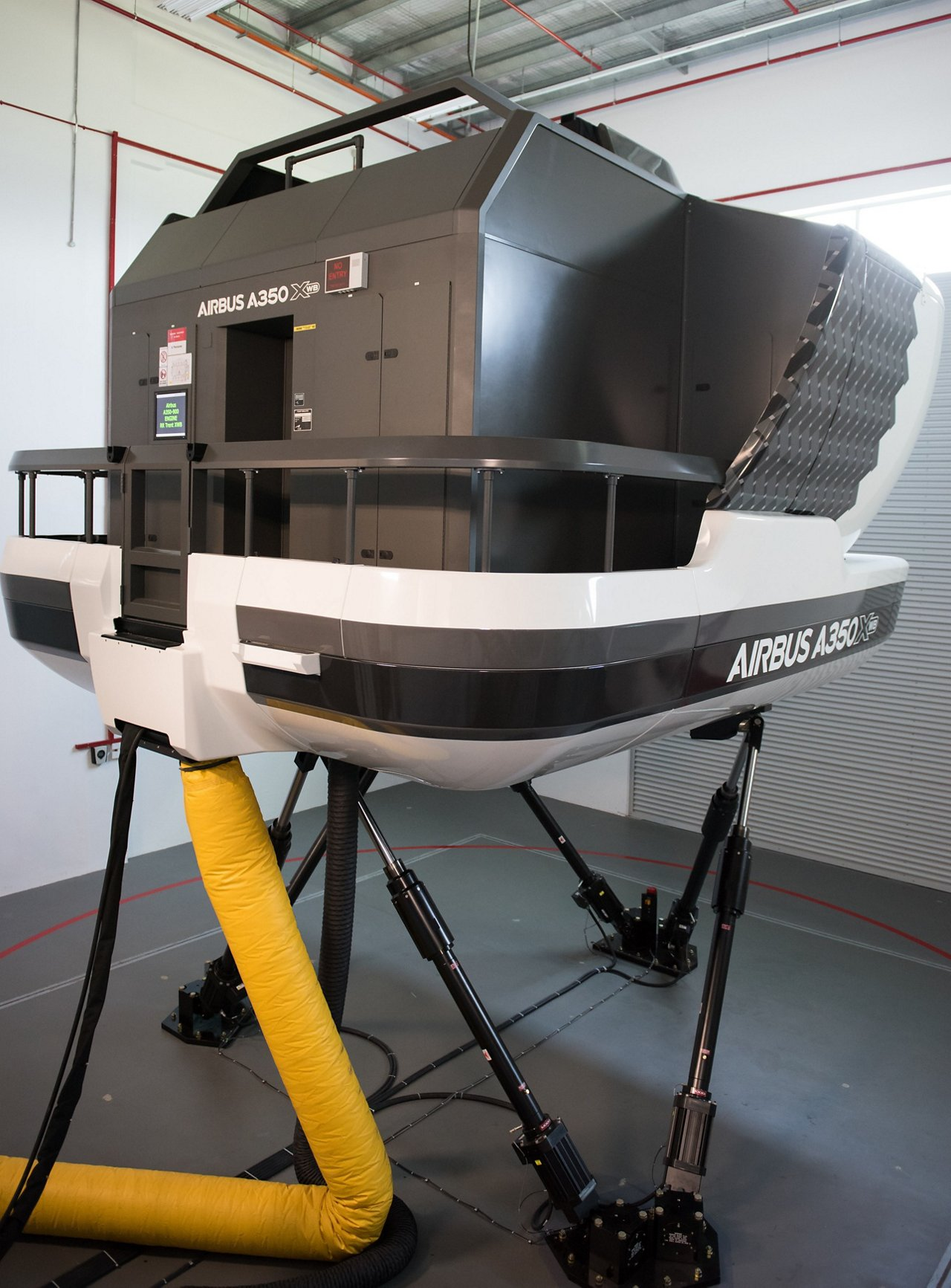 AATC A350 XWB full flight simulator