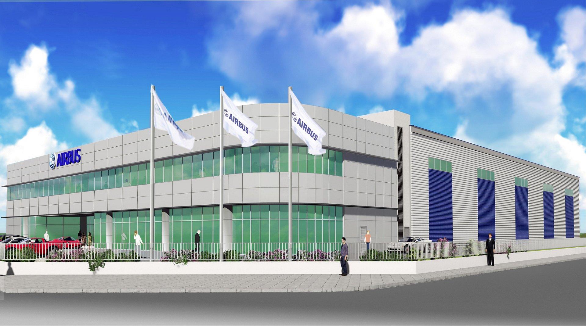 Airbus Asia Training Centre_Digital rendering