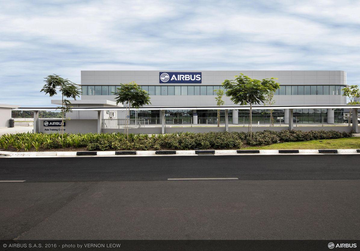Airbus Asia Training Centre_Opening in Singapore 1