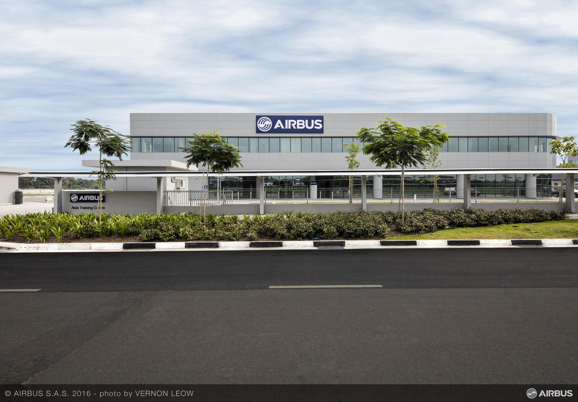 Airbus Asia Training Centre in Singapore