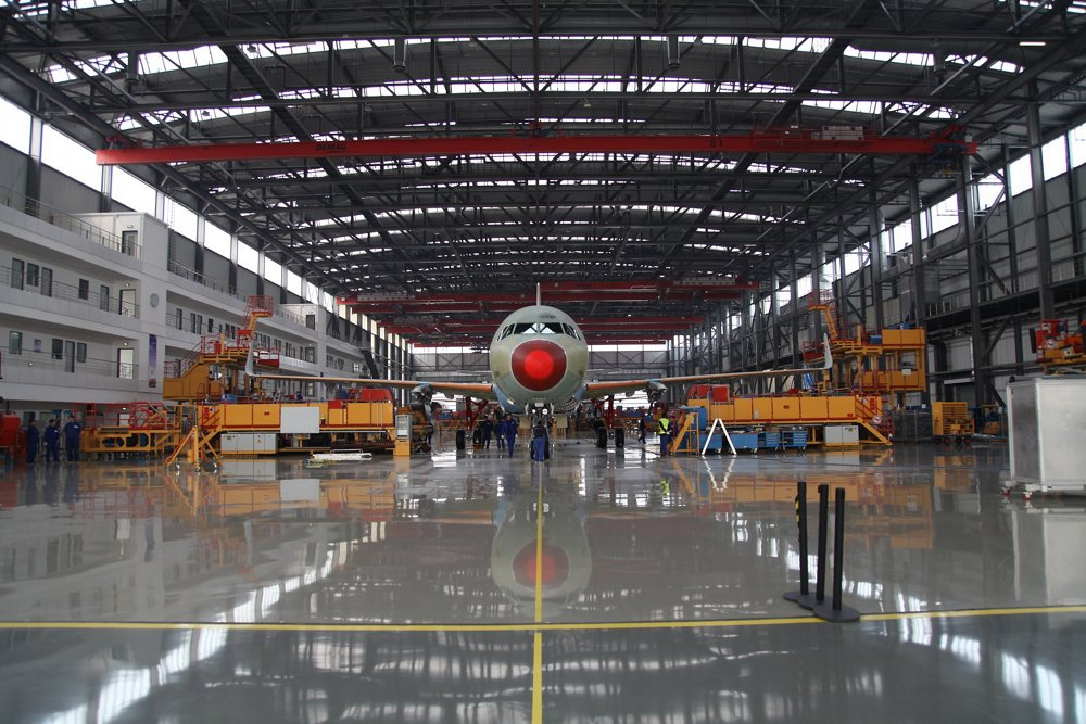 Airbus' Final Assembly Line in Tianjin, China – which opened in 2008 – now has more than 730 employees