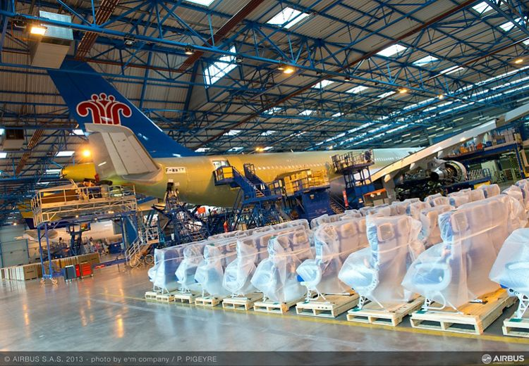 GRAMONT 2, Airbus A330 Completion and Delivery Centre in China