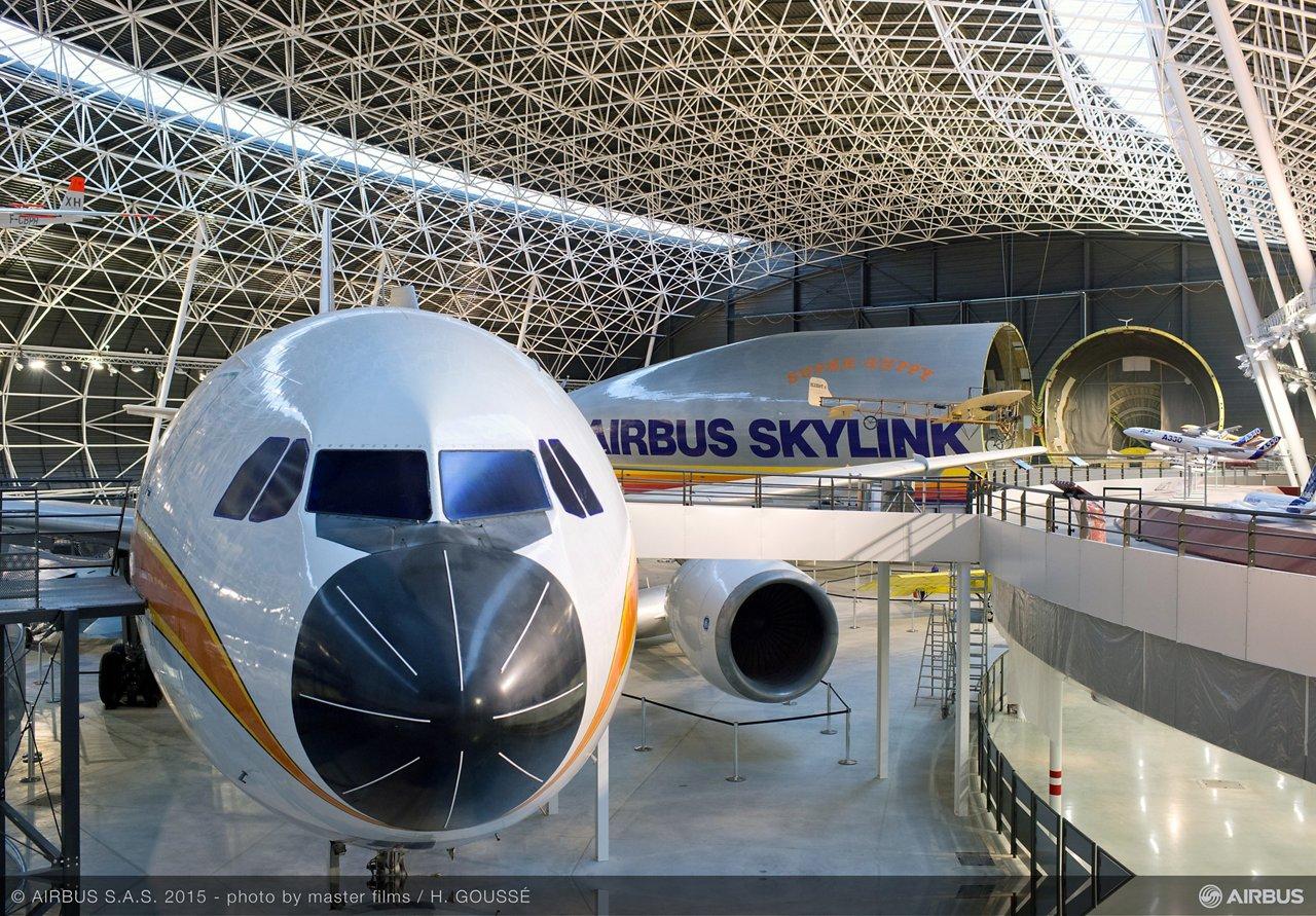 Aeroscopia museum aircraft display 1