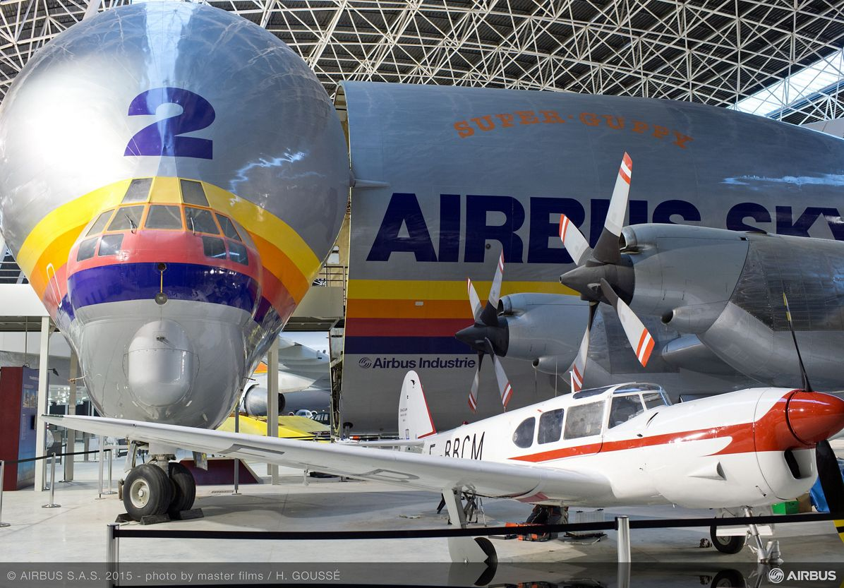 Aeroscopia museum aircraft display 2