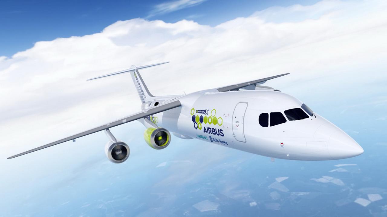 Airbus, Rolls-Royce und Siemens haben sich zur zeitnahen Entwicklung eines Flugdemonstrators zusammengeschlossen - ein bedeutender Schritt nach vorn auf dem Gebiet der hybrid-elektrischen Antriebe für kommerzielle Flugzeuge.