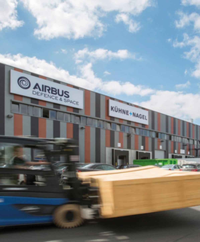 New logistics centre in Airbus Bremen