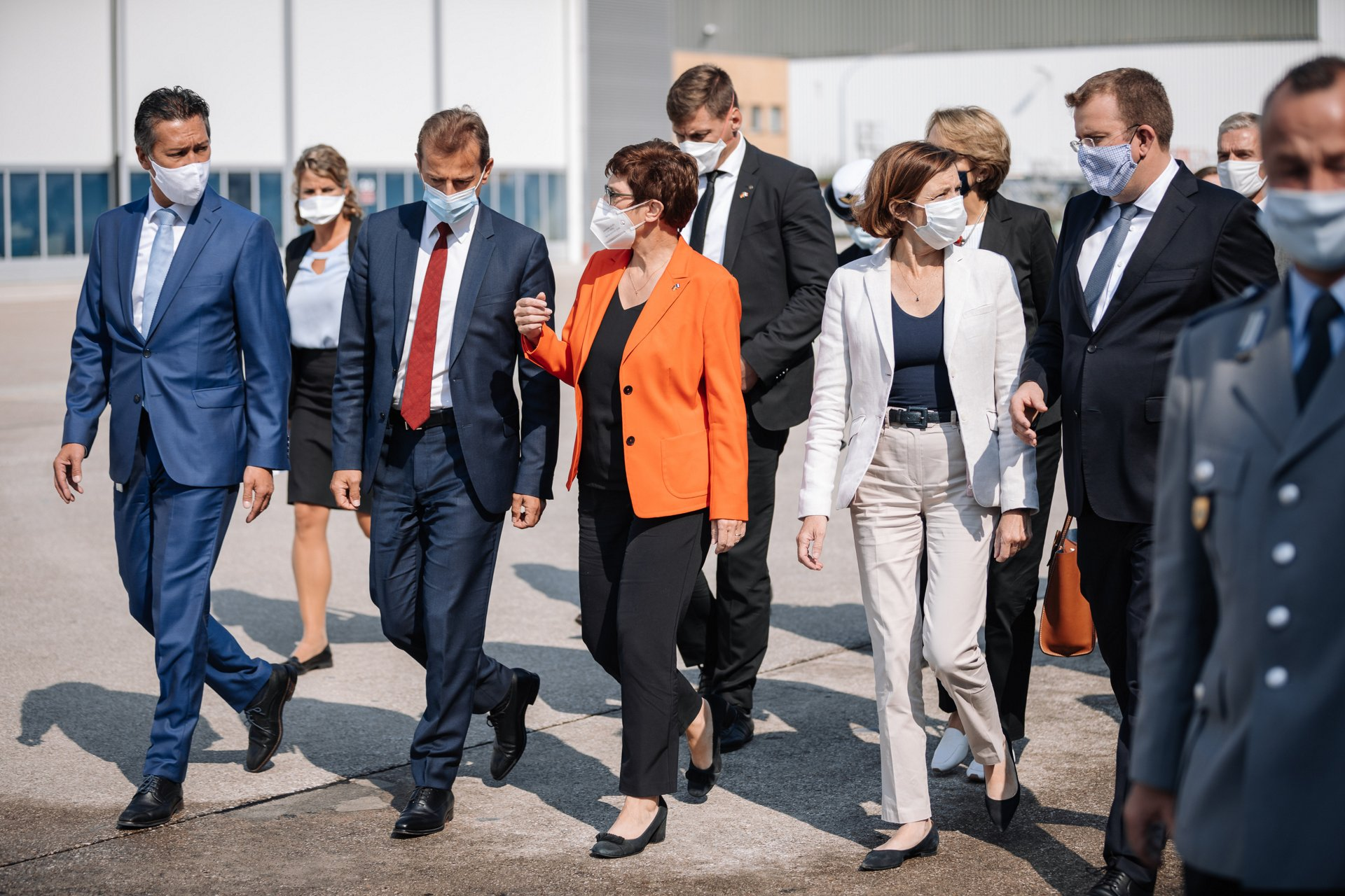 September 17th 2020 - Defence Ministers of Germany and France met with Airbus CEO Guillaume Faury, Airbus Defence and Space CEO Dirk Hoke