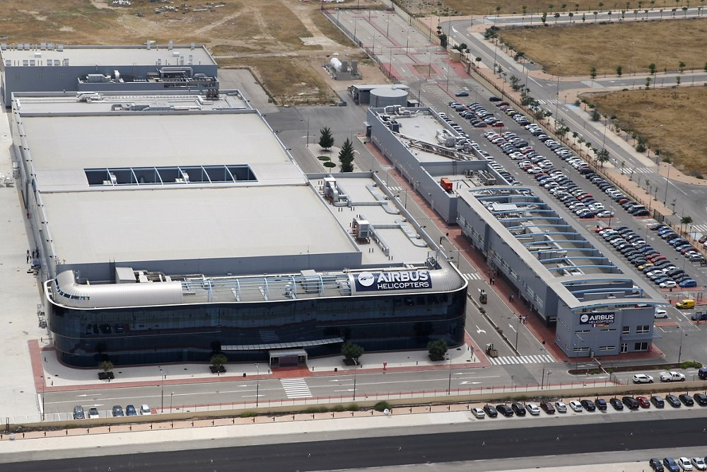 Albacete to produce rear fuselages for the entire range of Airbus helicopters