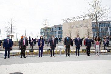 Inauguración Nuevo Campus Airbus Getafe