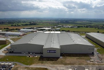 Broughton north factory - external view