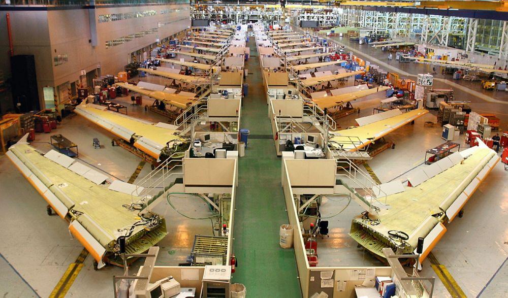 3,000th single-aisle wingset, UK-Broughton-2
