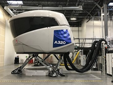 The first A320neo full flight simulator in the Americas