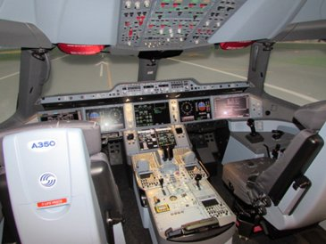 A350 XWB full-flight simulator in Miami_1