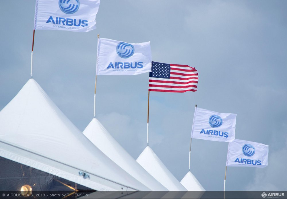 At home in the U.S.: Airbus launched the next chapter in expanding its significant U.S. presence with its new A320 Family final assembly line in Mobile, Alabama, for which construction officially began in April 2013
