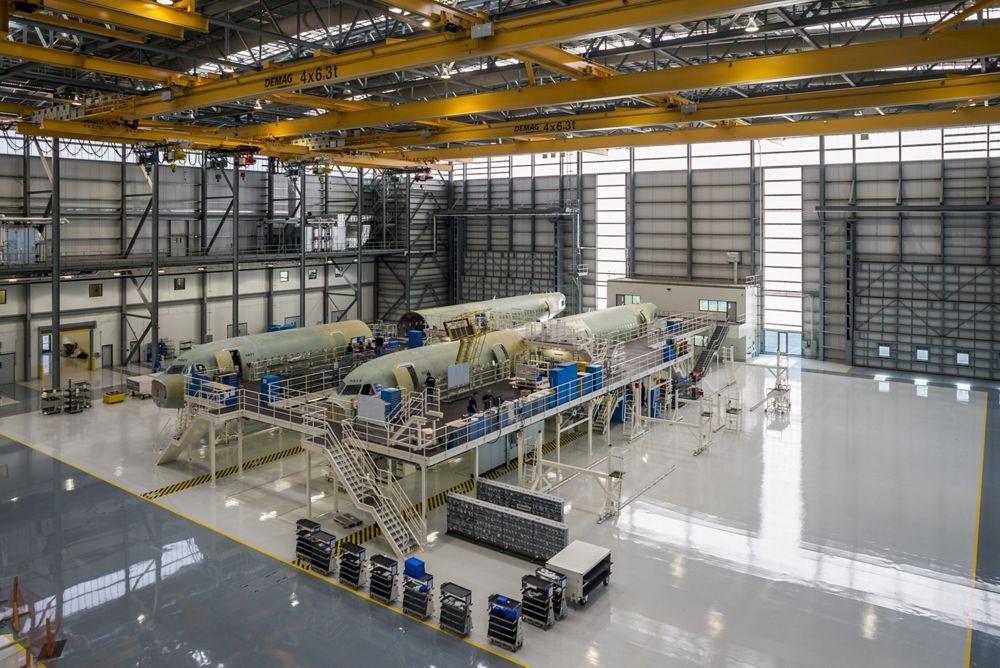Airbus US Manufacturing Facility – Mobile Alabama inside 2